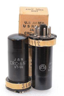 JAN CRC / 6N7 / VT 96