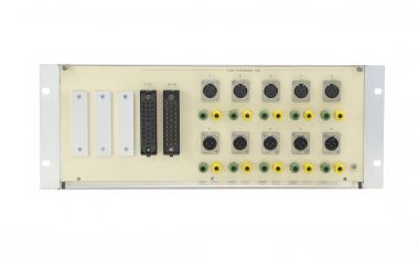 19-inch 5RU audio patchbay with adapter/format converter function | SF203