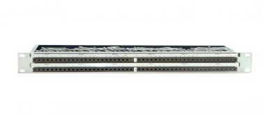 19-inch 1RU TT96 patchbay | tiny telephone to EDAC | SF206