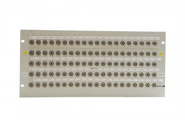 19-inch 5RU HF13 to BNC video patchbay with 100 inputs | SF220
