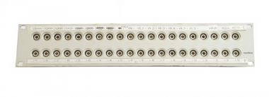19-inch 3RU HF13 to BNC video patchbay with 40 inputs | SF225