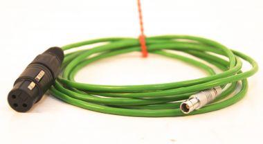 XLR-weiblich auf Lemo Audioadapter