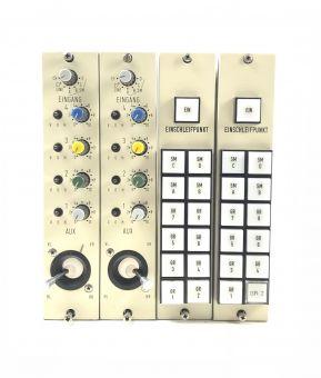 2x Neumann monochannel | Aux, Quad-Panning, Routing