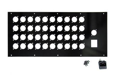 VT19-5U Rückwand für 41 XLRs & NES