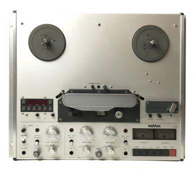 REVOX PR99 MKII VU 2-Spur Bandmaschine