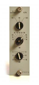 Siemens V276 Mikrofonverstärker