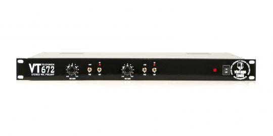 VT672 Telefunken Mikrofonvorverstärker | stereo