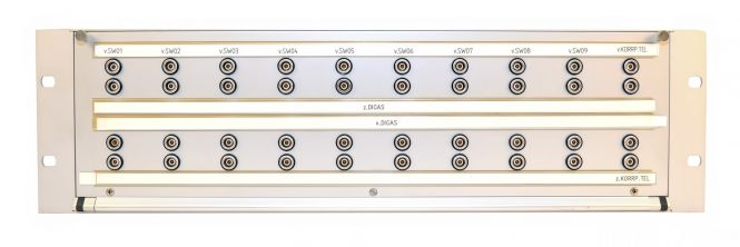 19-Zoll 3HE 40x LEMO Series 0S  Steckfeld   SF116