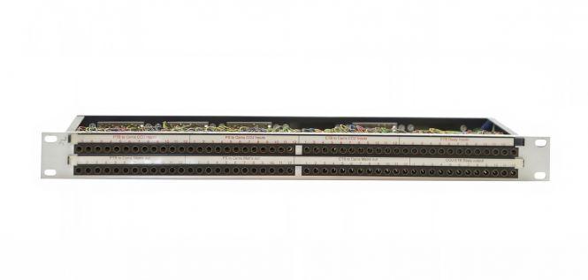 19-inch 1RU TT96 patchbay | tiny telephone to EDAC | SF208