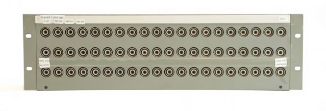19-inch 3RU HF13 to BNC video patchbay with 60 inputs | SF228