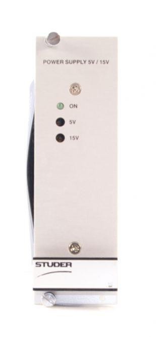STUDER Power Supply 5V / 15V | 89.20.2512