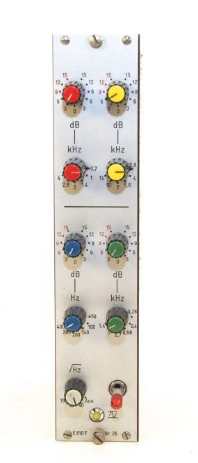 TBG E601F Equalizer