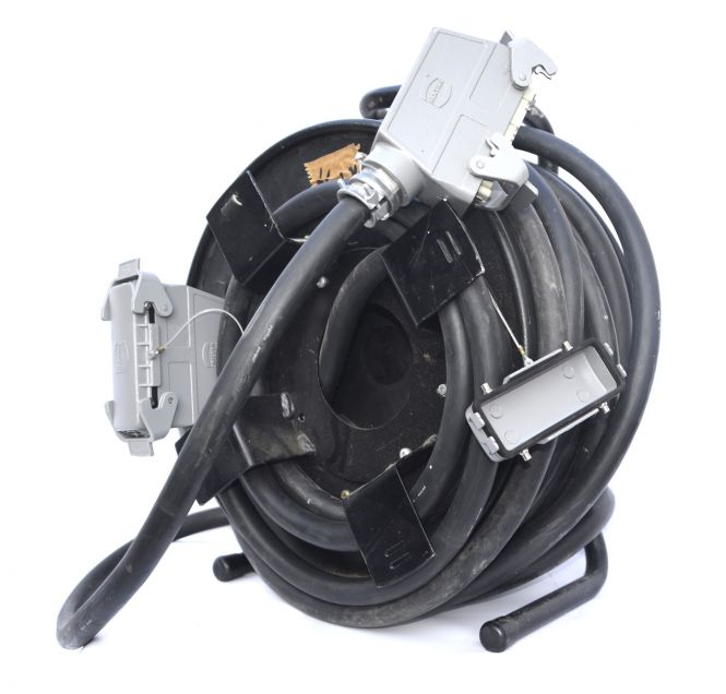 cabledrum with  Harting connector