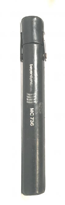Beyerdynamic leather microphone box