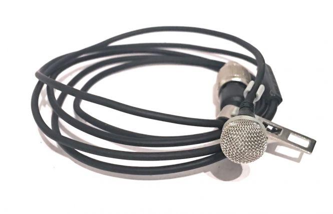 SENNHEISER Ansteckmikrofon MKE 2 mit Windkorb und Klammer