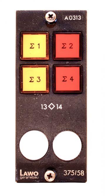 Lawo 375/58 Routing Kassette