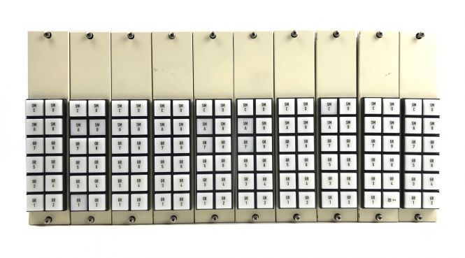 10x Neumann SKE stereo Routing modul | vintage danner