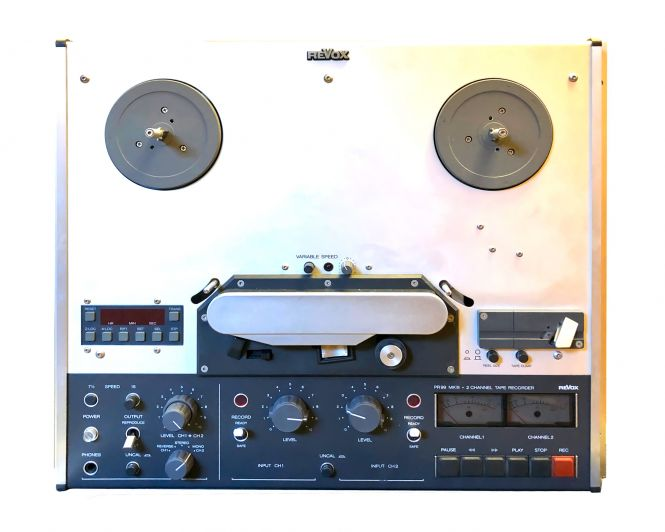 REVOX PR99 MKIII VU 2-Spur Bandmaschine