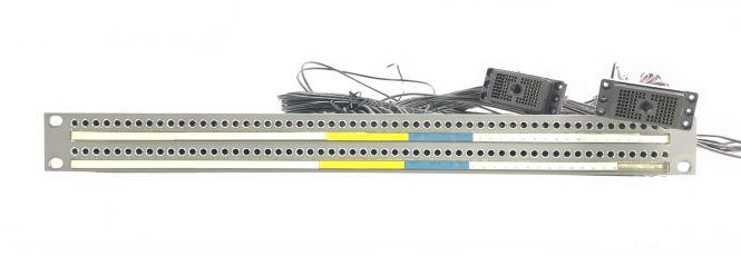19-Zoll 1HE TT112 Steckfeld   tiny telephone auf Siemens