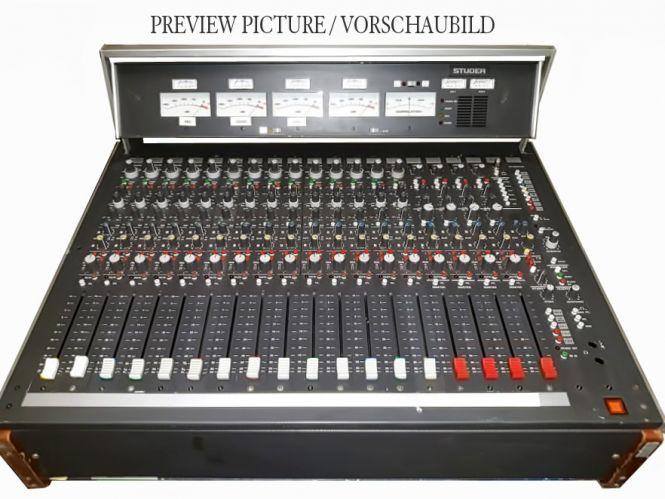STUDER 962 analog mixing console