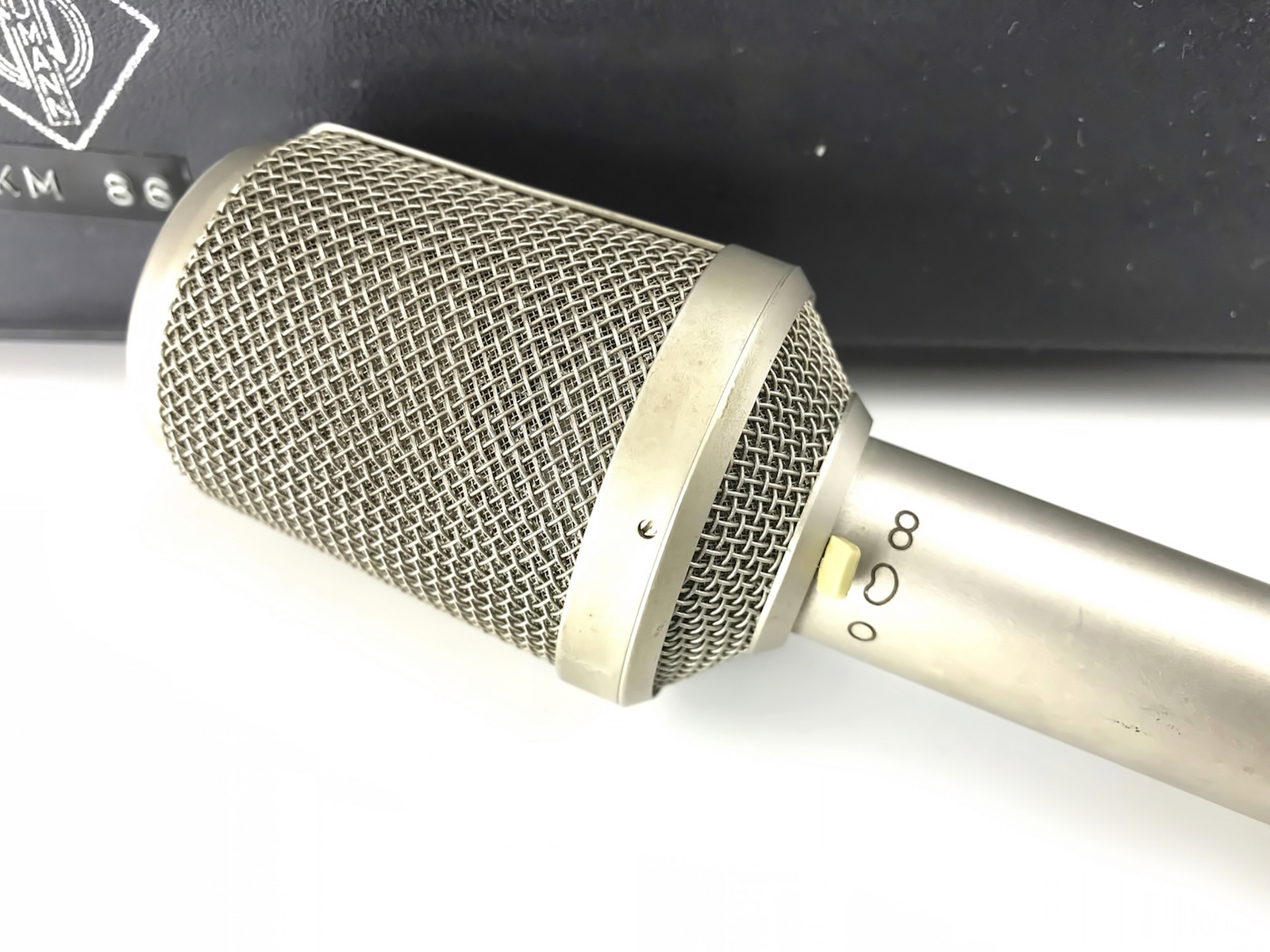 Diagram On Condenser Mic Patterns Wiring Diagrams Microphone Schematic Vintagetools Shop Neumann Km 86 Vintage
